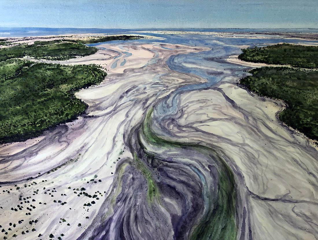 web main image 1. Beagle Bay, WA,105x156cm