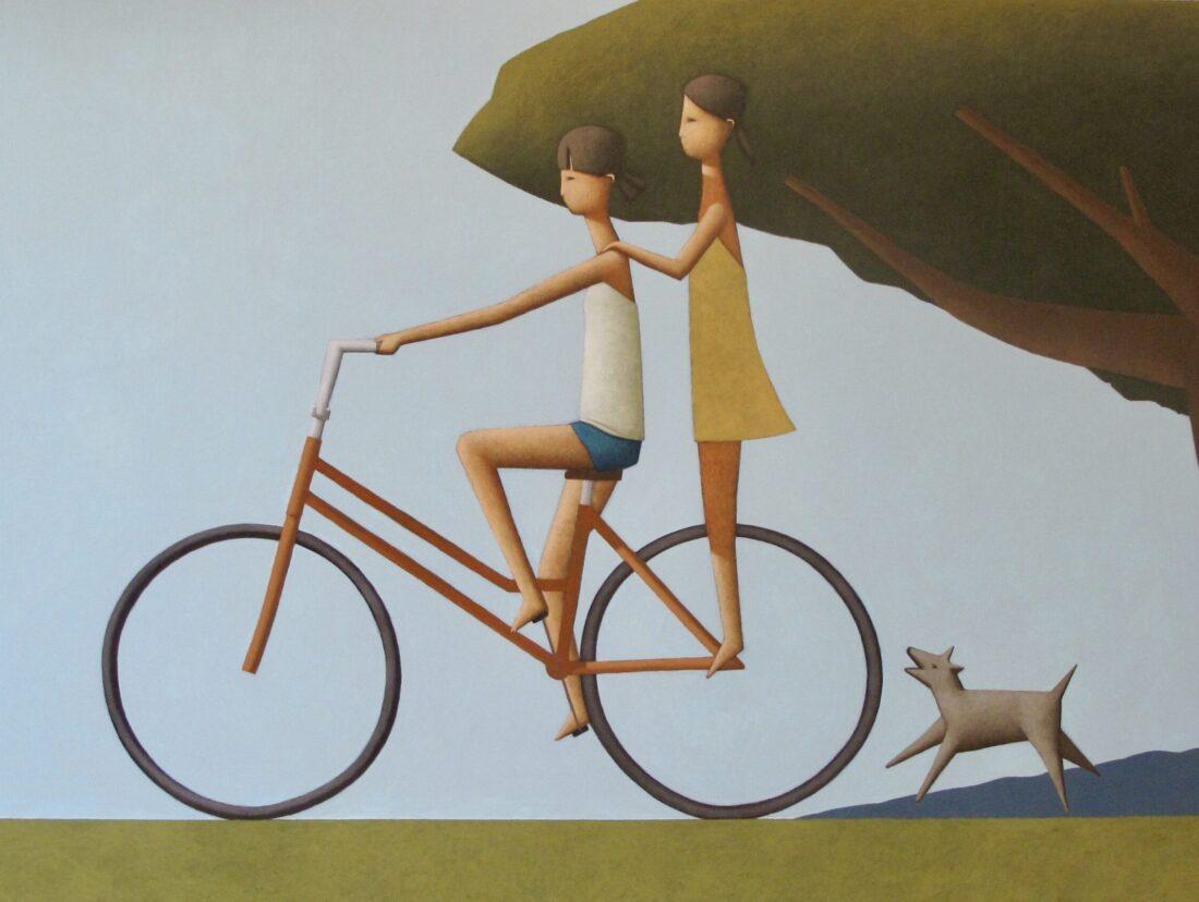 Autumn Ride 90 x 120 cm